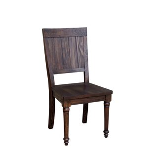 August Grove Muncy Wooden Dining Chair (Set of 2)