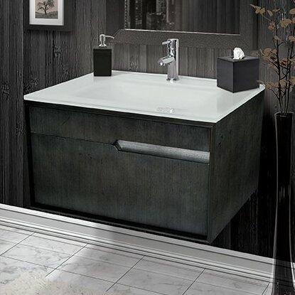 Floating Or Wall Mounted Vanities Youll Love Wayfair - Bathroom vanity 30 x 18 for bathroom decor ideas