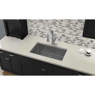 Crosstown 31 L x 19 W Undermount  Kitchen Sink by Elkay