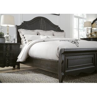 Claybrooks Sleigh Bed by Gracie Oaks