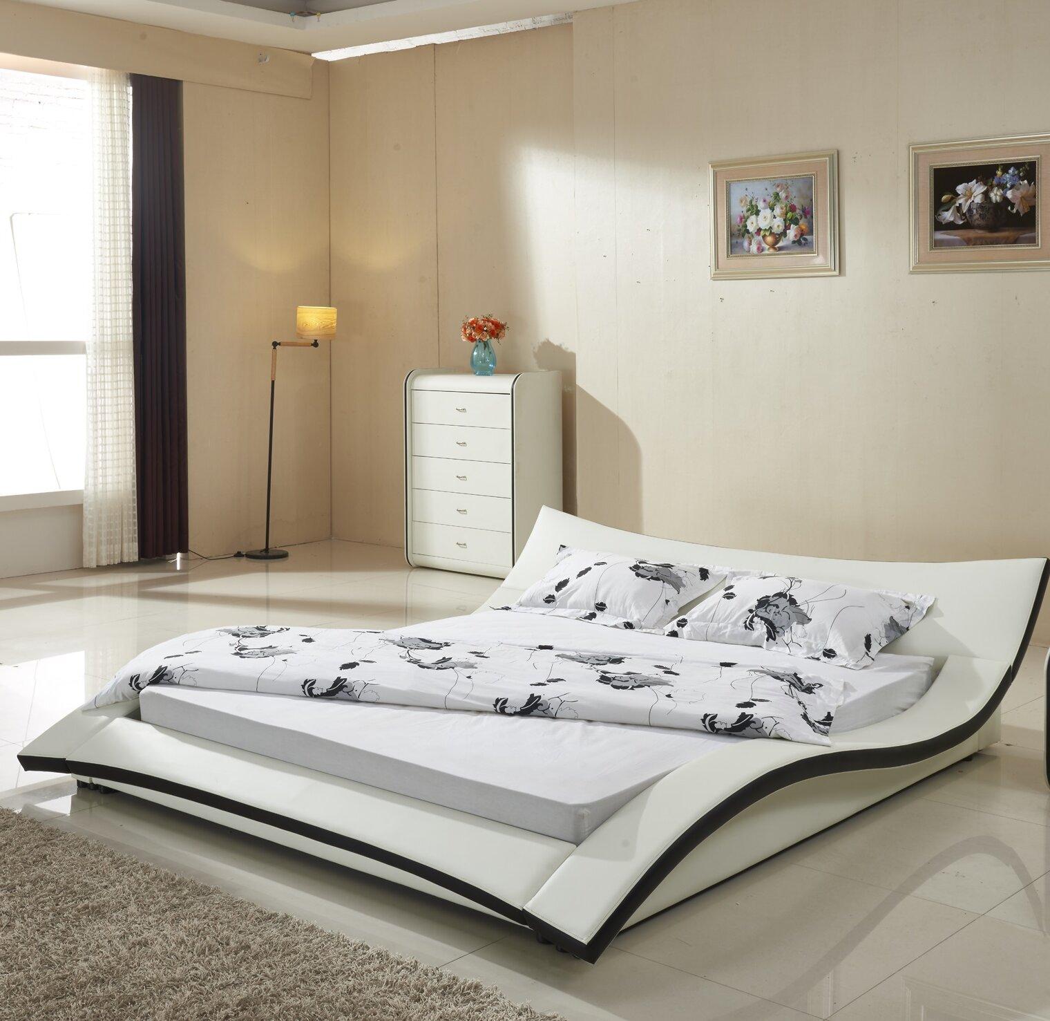 Orren Ellis Kristie California King Upholstered Platform Bed Reviews Wayfair Ca
