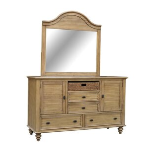 Fife 4 Drawers Dresser with Mirror