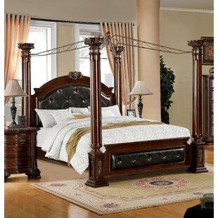 Astoria Grand Edmore Upholstered Canopy Bed