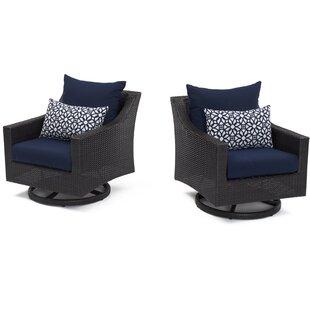 Three Posts Northridge Motion Club Chair with Cushions (Set of 2)