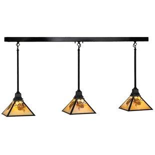 Meyda Tiffany Winter Pine 3-Light Kitchen..