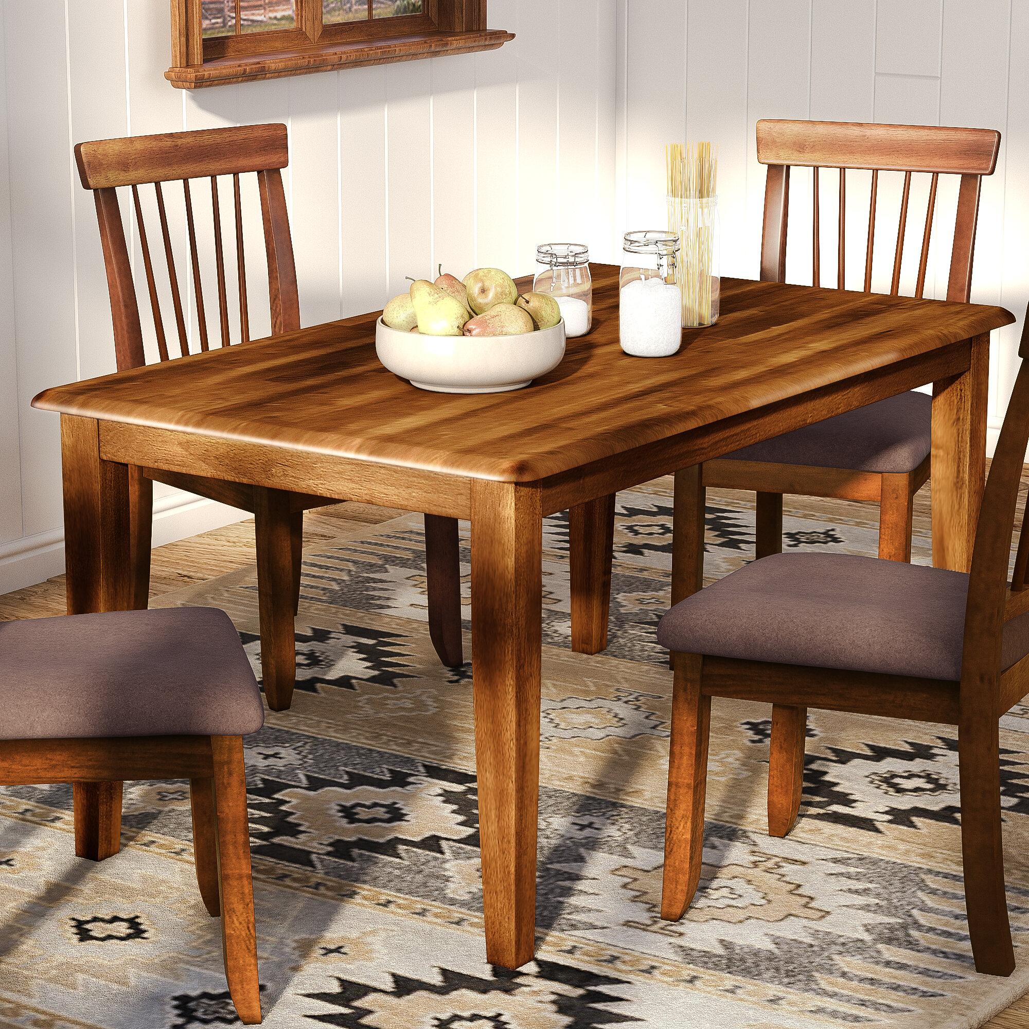 "Red Barrel Studio® Pevensey 36"" Dining Table & Reviews | Wayfair"