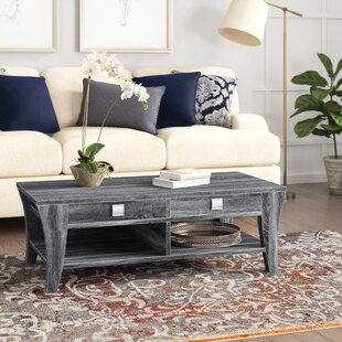 Mcnaughton Coffee Table with Storage by Wrought Studio