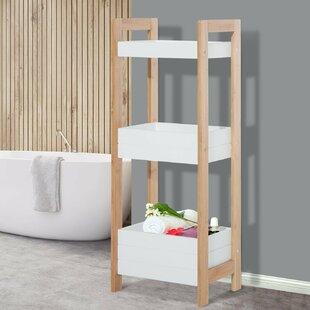 Gentil Bamboo 19.5 X 76cm Bathroom Shelf