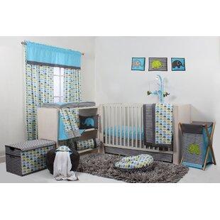 Yasmeen 10 Piece Crib Bedding Set ByViv + Rae