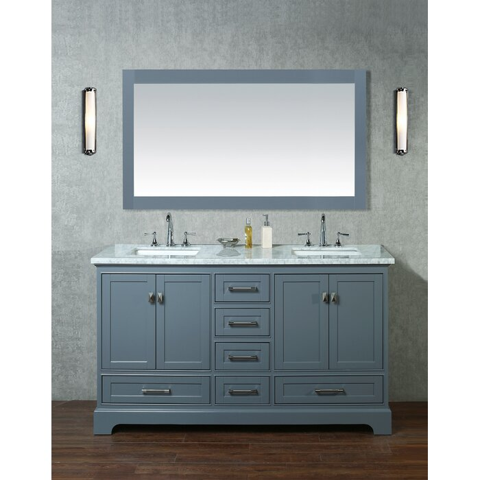 Bathroom Double Sink | Stian 60 Double Sink Bathroom Vanity Set