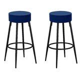 O'Kean 30.5'' Bar Stool (Set of 2) by Ebern Designs