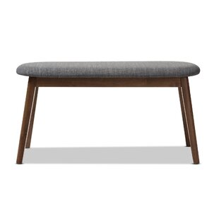 Cronin Mid-Century Upholstered Bench