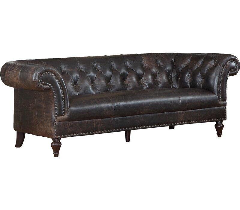 lazzaro leather brooks leather chesterfield sofa reviews wayfair