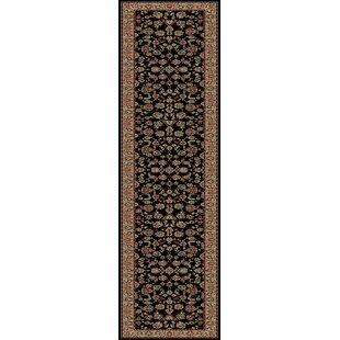 Reviews Heritage Elegant Keshan Ebony Area Rug ByMayberry Rug