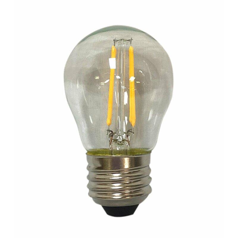 RoyalDesigns 40 Watt (40 Watt Equivalent) G45 LED Dimmable ...