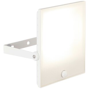 Birch 1-Light LED Area Light With Motion Sensor By Sol 72 Outdoor
