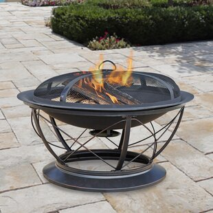 Pleasant Hearth Palmetto Steel Wood Fire ..