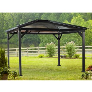 Borneo 10 Ft. W x 12 Ft. D Steel Patio Gazebo by Sunjoy