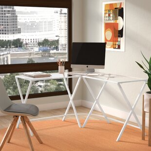 Latitude Run Albarado L-Shape Corner Desk
