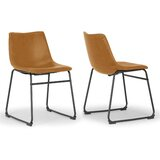 Myrick Upholstered Dining Chair (Set of 2) by Union Rustic