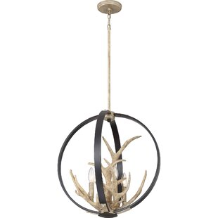 Lopiccolo 4-Light Chandelier by Union Rustic
