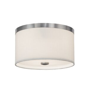 Meyda Tiffany Cilindro 2-Light Flush Mount