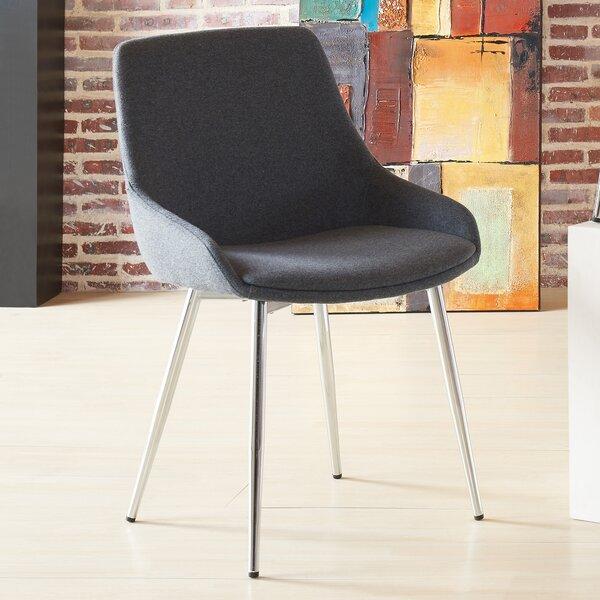 Surprising Modern Contemporary Dining Chairs With Metal Legs Allmodern Machost Co Dining Chair Design Ideas Machostcouk