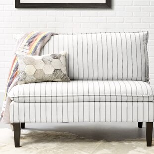 Jessica Pillow Back Upholstered Bench