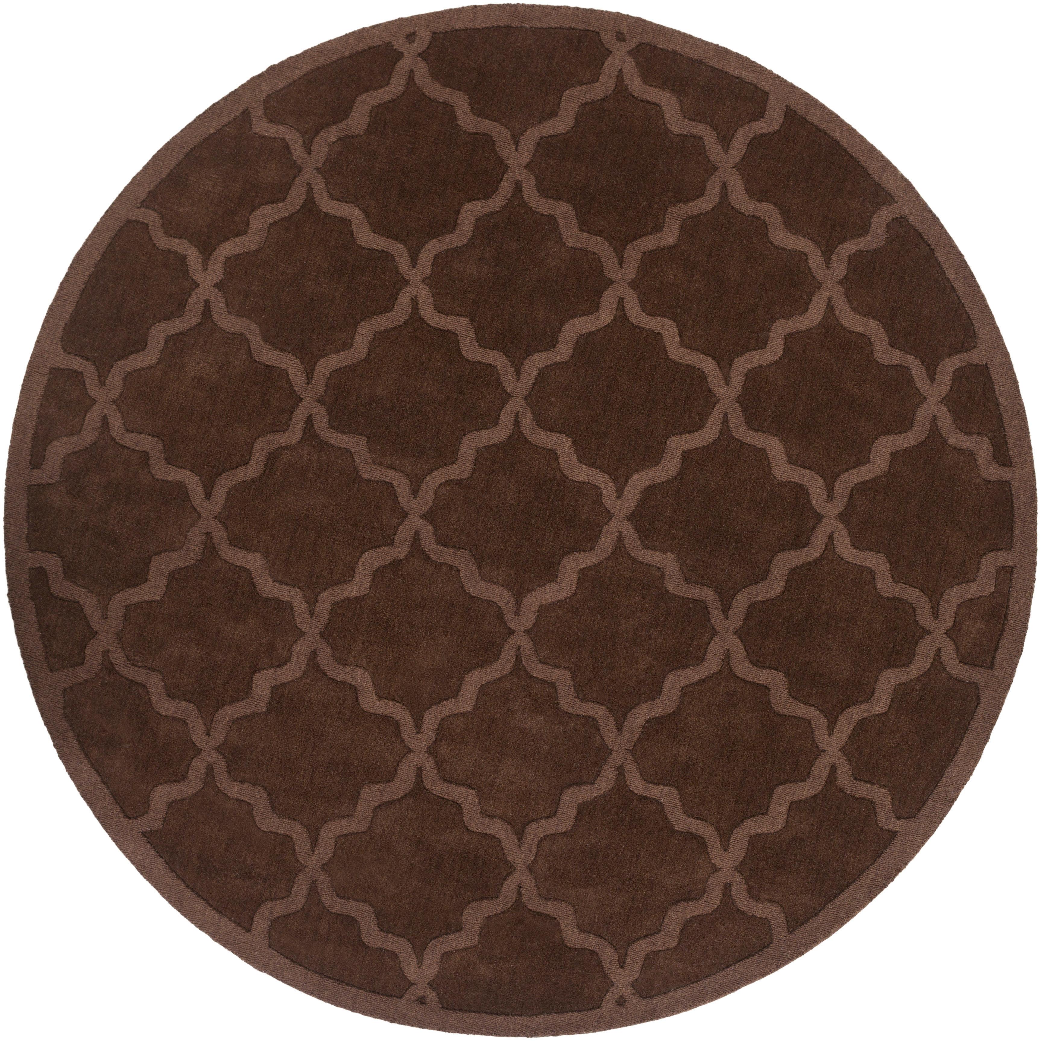 Handmade Wool Chocolate Brown