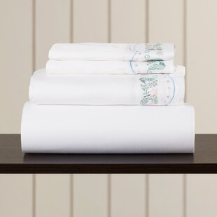Reviews Nathalia Sand Dollar 400 Thread Count Sheet Set By Highland Dunes