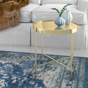 Best Price Blalock End Table By Mercury Row