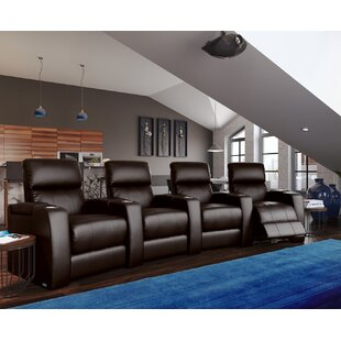 Latitude Run Home Theater Curved Row Seating (Row of 4)