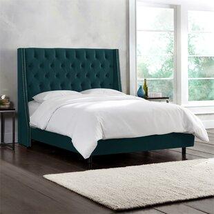 Skyline Furniture Winona Upholstered Panel Bed