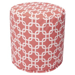 Coral Links Pouf by Majestic Home Goods