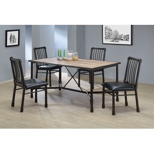 Macclesfield 5 Piece Dining Set Williston Forge