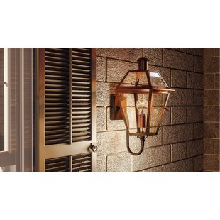 Laurel Foundry Modern Farmhouse Lois Outdoor Wall Lantern