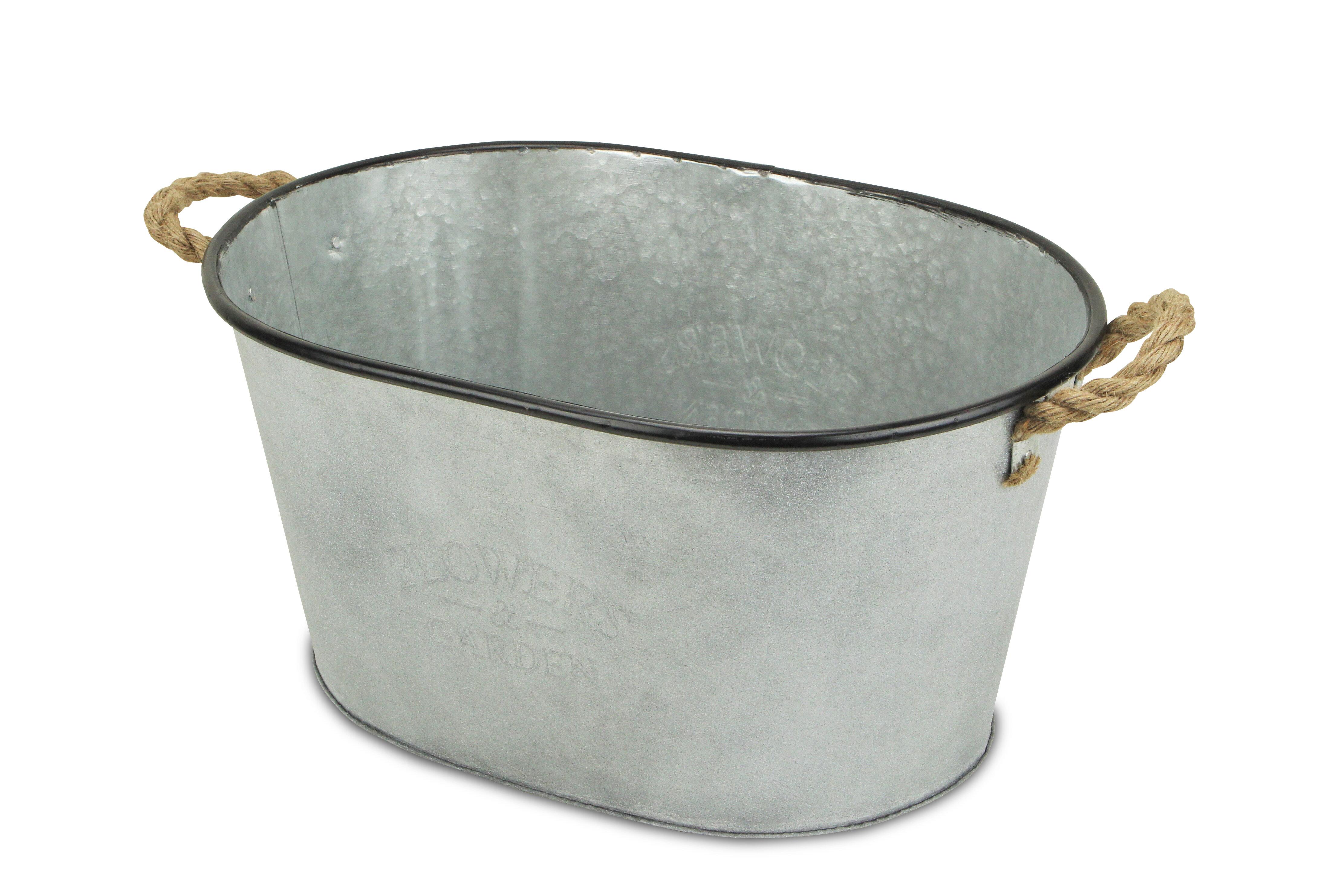 Amerigo Metal Pot Planter Joss Main
