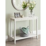 Carmona 36 Solid Wood Console Table by One Allium Way®