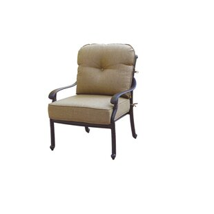 Windley Club Chair With Cushion by Fleur De Lis Living Great price