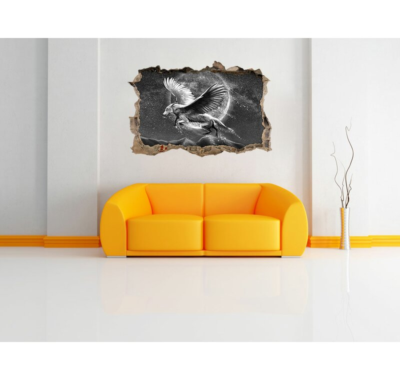 Home Loft Concept Wolf With Wings Wall Sticker Wayfaircouk