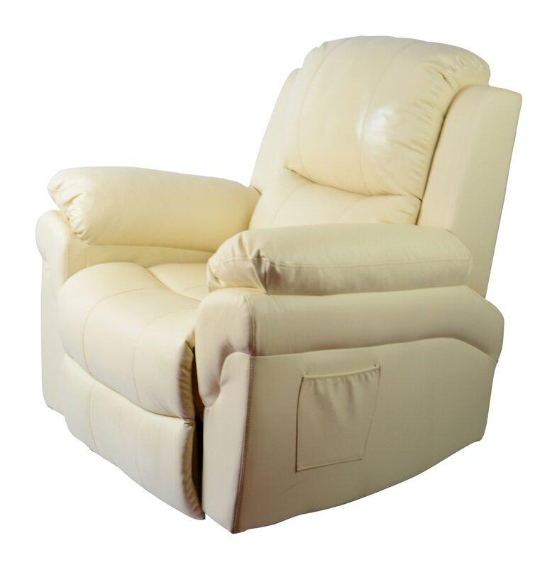 Reclining Massage Chair newacme llc mcombo vibrating swivel reclining massage chair with
