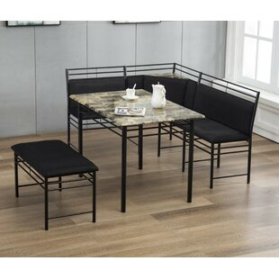 Tyrell 3 Piece Breakfast Nook Dining Set Winston Porter