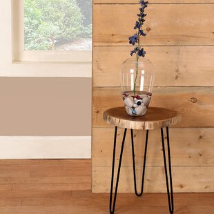 Foundry Select Decaro Acacia Accent Log End Table (Set of 2)