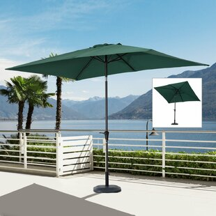 Jayson 6.5' x 10' Rectangle Market Umbrella