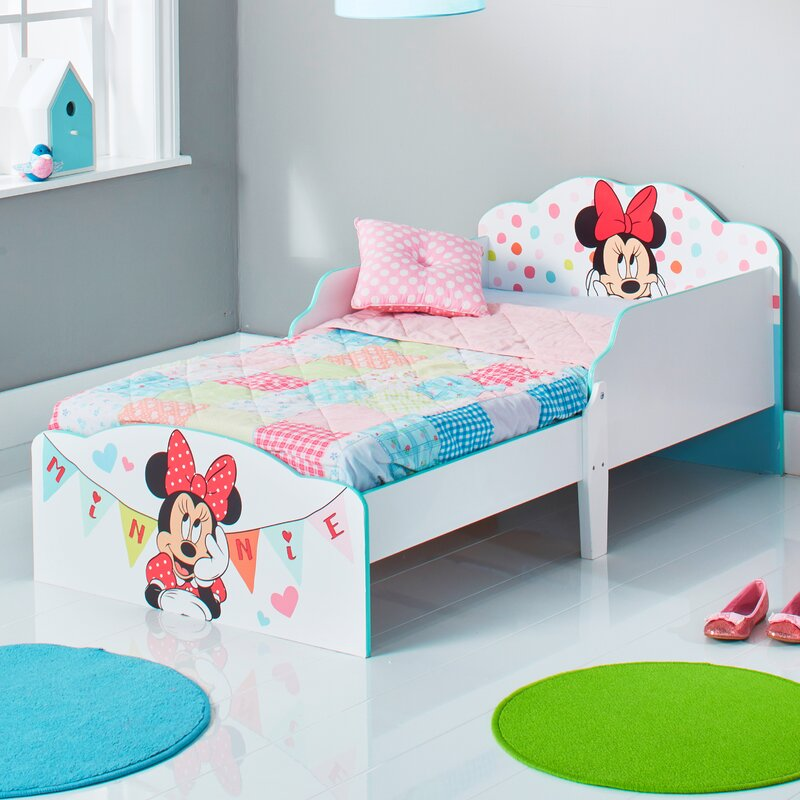 Mickey Mouse Friends Disney Minnie Mouse Toddler Bed Frame