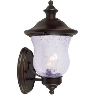 Check Prices 1-Light Outdoor Sconce By Hardware House
