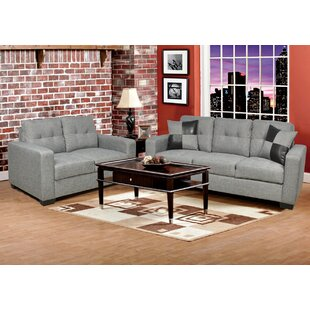 Della 2 Piece Living Room Set by Beverly Fine Furniture