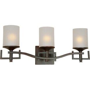 Mclamb 3-Light Vanity Light by Ebern Designs