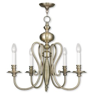 Darby Home Co Echevarria 4-Light Chandelier