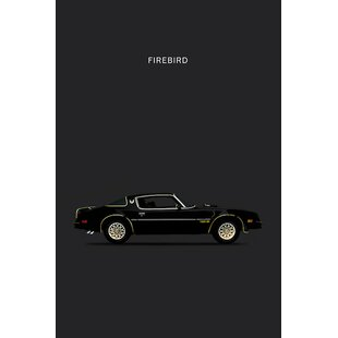 '1978 Pontiac Firebird' Graphic Art Print on Canvas By East Urban Home